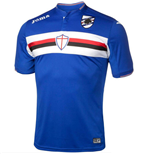 2015-2016 Sampdoria Joma Home Football Shirt