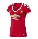 2015-2016 Man Utd Adidas Womens Home Shirt