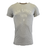 2015-2016 Man Utd Adidas Graphic Tee (Grey)
