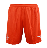 2015-2016 Rangers Away Goalkeeper Shorts (Red)