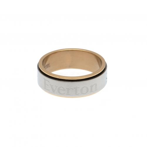Everton F.C. Bi Colour Spinner Ring Medium