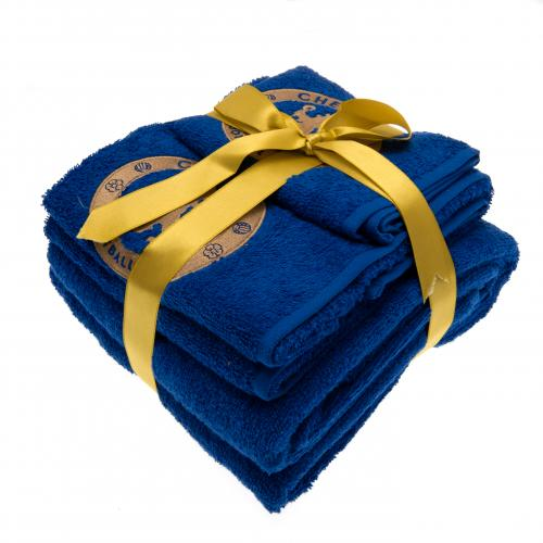 Chelsea F.C. 3 Piece Towel Set
