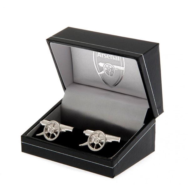 Arsenal F.C. Sterling Silver Cufflinks GN