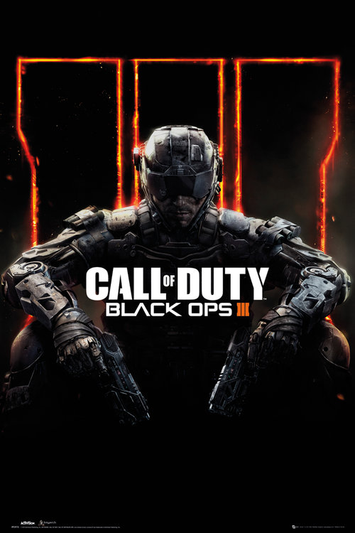Call of Duty Black Ops 3 Cover Panned Out Maxi Poster