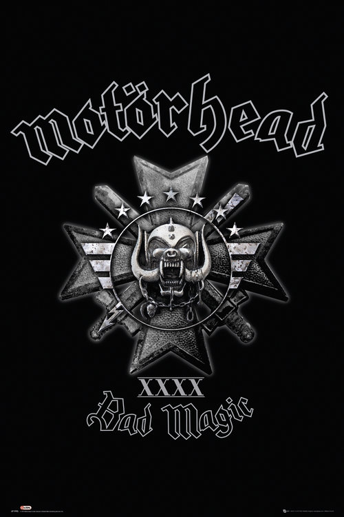 Motorhead Bad Magic Maxi Poster