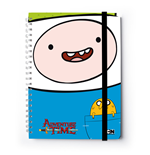 Adventure Time Notebook A4 Finn