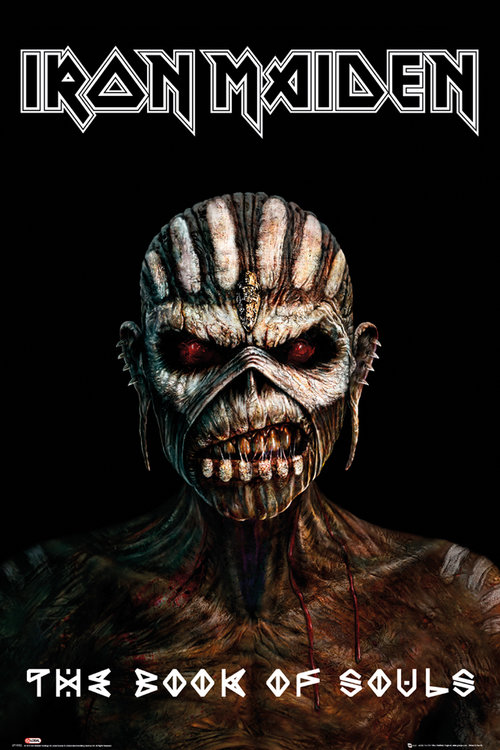 Iron Maiden The Book Of Souls Maxi Poster