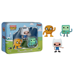 Adventure Time Pocket POP! Vinyl Figure 3-Pack Tin Finn, Jake, BMO 4 cm