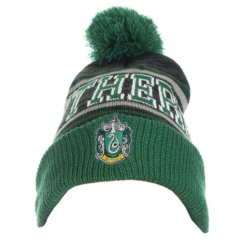 Official Harry Potter Beanie Slytherin Logo  Buy Online on Offer 7b70d660a7b