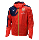 2015-2016 Arsenal Puma Rain Jacket (Red)