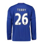 2015-2016 Chelsea Home Long Sleeve Shirt (Terry 26) - Kids