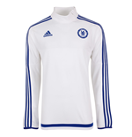 2015-2016 Chelsea Adidas Training Top (White)
