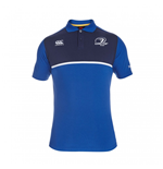 2015-2016 Leinster Rugby Cotton Training Polo Shirt (Blue)
