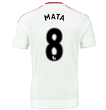 2015-2016 Man Utd Away Shirt (Mata 8)