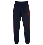 2015-2016 Man Utd Adidas Presentation Pants (Dark Blue) - Kids