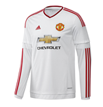 2015-2016 Man Utd Adidas Away Long Sleeve Shirt