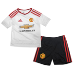 2015-2016 Man Utd Adidas Away Little Boys Mini Kit