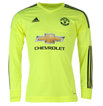 2015-2016 Man Utd Adidas Away Goalkeeper Shirt