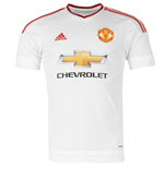 2015-2016 Man Utd Adidas Away Football Shirt (Kids)