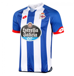 2015-2016 Deportivo La Coruna Lotto Home Football Shirt (Kids)