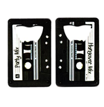 Mix Tape Credit Card Bottle Opener