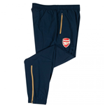 2015-2016 Arsenal Puma Leisure Pants with Pockets (Navy) - Kids