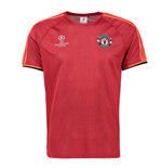 2015-2016 Man Utd Adidas EU Training Shirt (Scarlet)