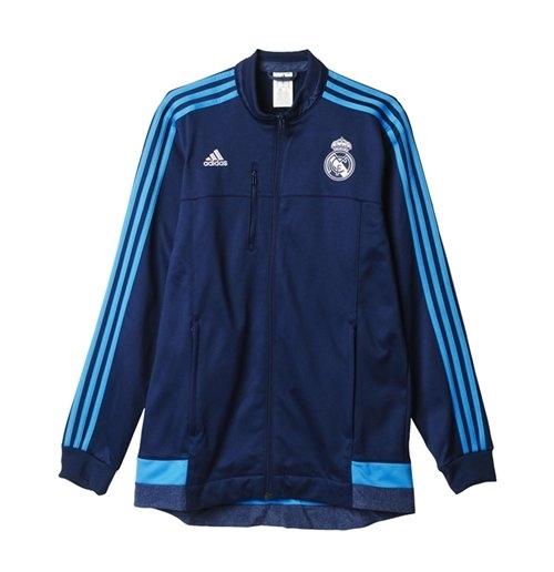 2015 2016 Real Madrid Adidas Anthem Jacket (Indigo)
