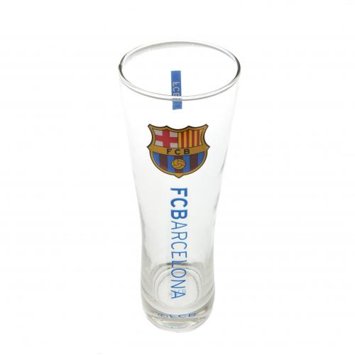 F.C. Barcelona Tall Beer Glass
