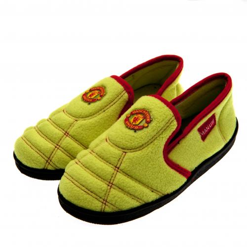Manchester United F.C. Neon Slippers Junior 1/2