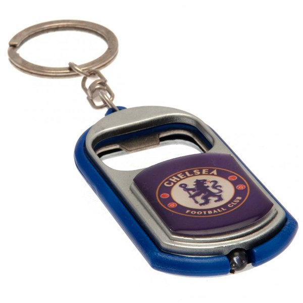 Chelsea F.C. Key Ring Torch Bottle Opener