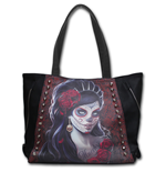 Day Of The Dead - Tote Bag - Top quality PU Leather Studded