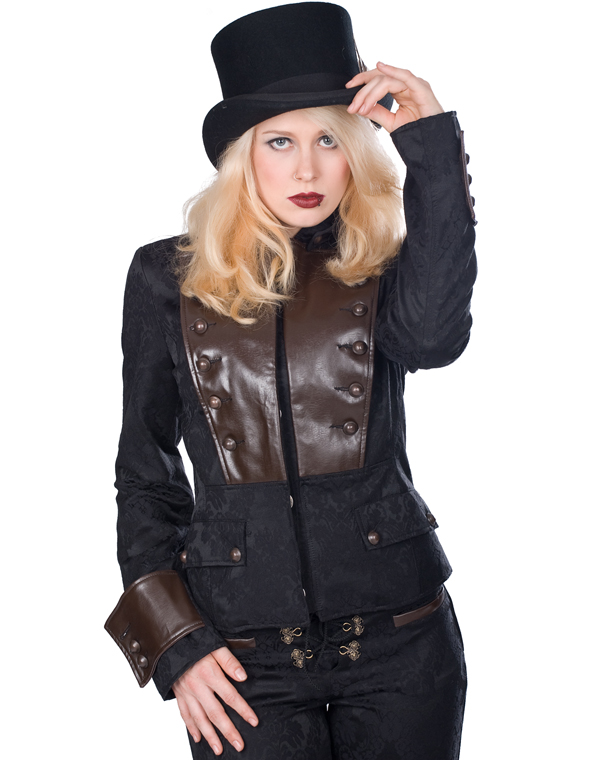 Aderlass Corsair Ladys Steam Punk Jacket