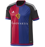 2015-2016 Basle Adidas Home Football Shirt