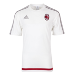 2015-2016 AC Milan Adidas Training Tee (White)