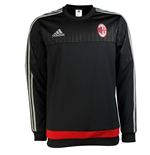 2015-2016 AC Milan Adidas Training Top (Black)