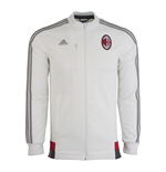 2015-2016 AC Milan Adidas Anthem Jacket (White)