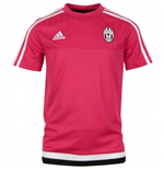 2015-2016 Juventus Adidas Training Tee (Pink) - Kids
