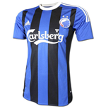 2015-2016 FC Copenhagen Adidas Away Football Shirt