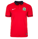 2015-2016 Blackburn Away Nike Football Shirt