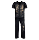 Bone Rips - 4pc Mens Gothic Pyjama Set