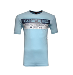 2015-2016 Cardiff Blues Rugby Graphic Tee (Sky Blue)