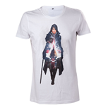 ASSASSIN'S CREED Syndicate Evie Frye T-Shirt, Medium, White
