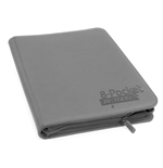 Ultimate Guard 8-Pocket QuadRow ZipFolio XenoSkin Grey