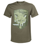 METAL GEAR SOLID Fox Hound Special Forces Group Men's T-Shirt, Large, Beige