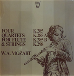 Vynil Mozart Wolfgang Amadeus - Quartets For Flute And Strings: K 285b, 298, 285, 285a  - Redel Kurt  Fl/members Of The Koeckert Quartet