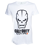 CALL OF DUTY Black Ops III Skull Men's T-Shirt, Extra Large, White