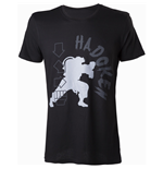 CAPCOM Street Fighter IV Hadoken Men's T-Shirt, Medium, Black
