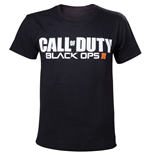 CALL OF DUTY Black Ops III Game Logo Men's T-Shirt, Extra Extra Large, Black