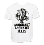 ARROGANT BASTARD Men's White T-Shirt